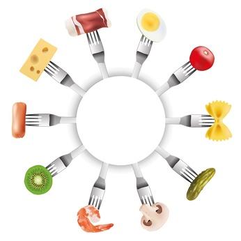 FOURCHETTES Cercle