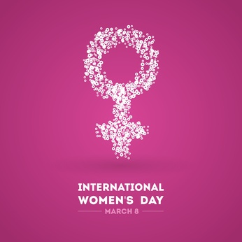 International Women's Day. March 8