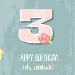 Celebrem el nostre 3r aniversari!